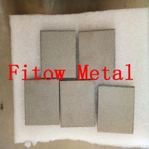 Quality 2OEM & Industrial Sintered Porous Metal Filters Sintered metal filter media plate 3mm for sale