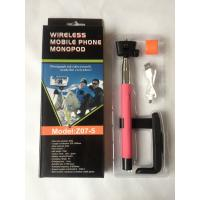 Wholesale Smartphone Monopod Wireless Bluetooth Selfie Stick For Iphone / Andriod from china suppliers