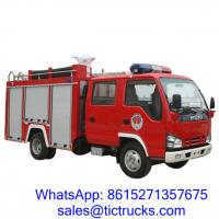 Wholesale ISUZU 2000L 98HP Fire Fighting Truck 4x2 for sale price $28000 from china suppliers