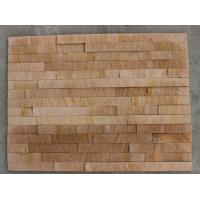 Buy cheap Yellow Sandstone  Culture Stone /Stone venner from wholesalers