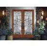 Buy cheap Beautiful Pattina Decorative Bathroom Window Glass Custom Glass Window Panels from wholesalers