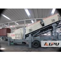 Wholesale Mine Jaw Portable Crusher Plant / Mobile Crushing And Screening Plants from china suppliers