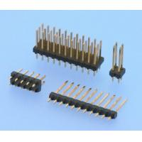 Wholesale PCB Board Connector 2.54mm Pin Header Connector Straight Height 2.54mm Gold Flash from china suppliers