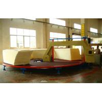 Wholesale High Performance Foam Cutting Machine , Circle Horizontal Cutter With Invertor Control from china suppliers