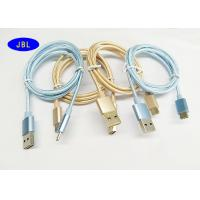 Wholesale Android Smart Phone Fully Reversible USB A M To Type C OTG Cable Braided Fabric from china suppliers