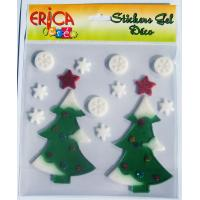 Wholesale Different style Christmas window stickers, christmas gift from china suppliers