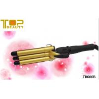 Wholesale Triple Barrel LED Hair Curling Iron (TR600B) from china suppliers