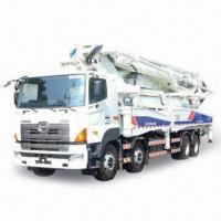 Wholesale 37m Truck-mounted Concrete Pump with Isuzu Chassis and Rexroth Hydraulics from china suppliers