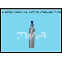 Wholesale 0.7L DOT High Pressure Aluminum   Gas Cylinder  Safety Gas Cylinder for  Use CO2 Beverage from china suppliers