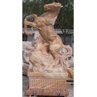 Quality Horse stone sculpture for garden for sale