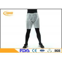 Wholesale PP Non Woven Disposable Shorts Pants For SPA Sauna Massage / Beauty Salons from china suppliers