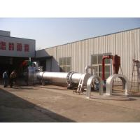 Wholesale 1100KG 1-1.5T/H Wood Rotary Drum Drier Thickened Iron Plate L2.1*W1.8*H1.95 M from china suppliers
