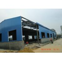 Wholesale Q345 Heavy Steel Structure Warehouse , Welded H Beam Industrial Steel Buildings from china suppliers