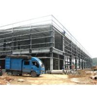 Wholesale Lightweight Industrial Steel Structures , Pre Engineering Steel Building Structures With Roof Panles from china suppliers