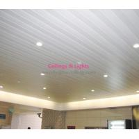 Wholesale Aluminum C-shaped 300mm Width Filmed Color Linear Ceiling Panel from china suppliers