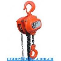 Wholesale 1-20T high quality HSZ-CA chain hoist with certification from china suppliers