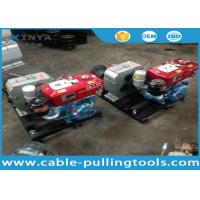 Wholesale 5T Water Cooled Diesel Engine Cable Winch Puller for Tower Erection from china suppliers