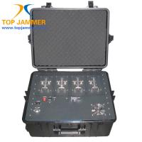 Wholesale 7 Bands 170W Luggage Portable Car Jammer Block Low Frequency GSM DCS 3G Signal DC 12V from china suppliers