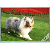 Wholesale UV Resistant Dog Pet Artificial Turf / Synthetic Grass Eco Friendly Installation from china suppliers