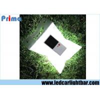 Wholesale Outdoor Solar Waterproof Inflatable Folding Camping Lamp , Led Solar Lantern White from china suppliers