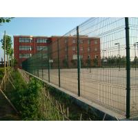 Wholesale Green Pvc Coated Welded Wire Mesh Panels For Courtyard / Sports Field from china suppliers