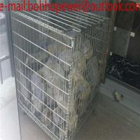Wholesale 50*50mm Electric Galvanized Metal Storage cage/wire mesh container for warehouse storage/Heavy Duty Scale metal storage from china suppliers