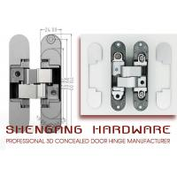 Wholesale Adjustable Concealed Italian Hinges With Zinc Alloy Material 110*24*26*25.5 mm from china suppliers