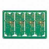 Wholesale Memory PCB with Routing Outline Fabrication and 0.05mm Minimum Conductor Width from china suppliers