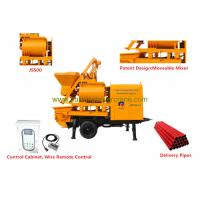 Wholesale Double - shafts Concrete Mixer Pump Trailer Hopper Capacity 800L from china suppliers