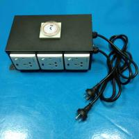 Wholesale 24 Hours 6 Way Hydroponic Multi Lighting Power Controller Socket for Grow Light and Greenhouse from china suppliers