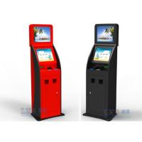 Wholesale Cash , Credit Card and Checks Interactive Information Bank Self Service Kiosk from china suppliers