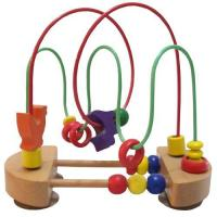 Quality Bead roller coaster, wood bead maze for sale