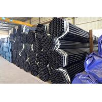 Quality Oil Casing / Oil Drilling Carbon Seamless Black Steel Pipe 2 - 80mm Thickness for sale