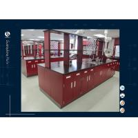 Wholesale Full Steel Floor Mounted Laboratory Bench Chemistry Laboratory Furnitue from china suppliers