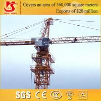 Wholesale 3-5t tower crane/ construction machinery small construction crane from china suppliers
