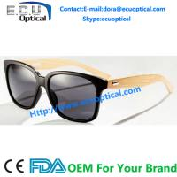 Wholesale 2014 fashion TR90 sunglasses with wood temple FDA approval sun glasses from china suppliers