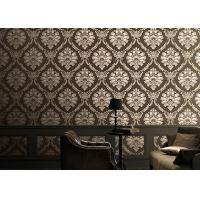 Wholesale Classical 1.06m Home Decoration Wallpaper Korean Style With Damsk Pattern , Eco Friendly from china suppliers