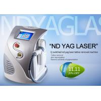 Wholesale Multifunctional Q Switched Nd Yag Laser Tattoo Removal Machine CE ISO13485 Approved from china suppliers