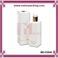 Buy cheap Ivory matte paper box for lotion/Custom body lotion packaging paper box ME-CD040 from wholesalers