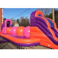 Wholesale Huge Inflatable Sports Games / Inflatable Wipeout Course With Big Balls from china suppliers