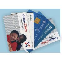 Wholesale 85.5 * 54Mm Size Full color PVC Credit Card With Offset Printing , ISO Standard from china suppliers