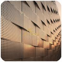 Wholesale Perforated metal, aluminum laser cut art panel for facade and architect Project from china suppliers