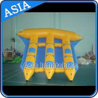 Wholesale Exciting Inflatable Flying Fish Boat 6 Person Motorized Inflatable Water Boat from china suppliers