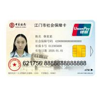 Wholesale Contact IC Security Guard ID Card with Hico Magstripe , Plastic ID Cards from china suppliers