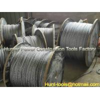 Wholesale FUX/FUH anti-twisting galvanized steel rope export from china suppliers