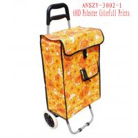 Wholesale Colorfull Large Capacity Light Weight Wheeled Shopping Trolley Push Cart Bag from china suppliers