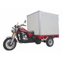 Wholesale Cabin Closed Box Motorized Cargo Trike Optional Color 200cc 250cc 150cc Motorcycle from china suppliers