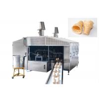 Wholesale Eco Friendly Industrial Waffle Maker 380V / Ice Cream Cone Maker 4-5 LPG Consumption/Hour from china suppliers