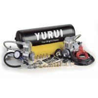 Quality Dual Onboard Air System 12 Volt Silver Black Color With Air Tanks Fast Inflation Air Compressor For 4x4 for sale