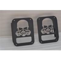 Wholesale Jeep Wrangler Lamp Cover Aluminum Wrangler JK from china suppliers